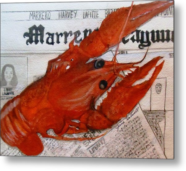 Crawdaddy Metal Print