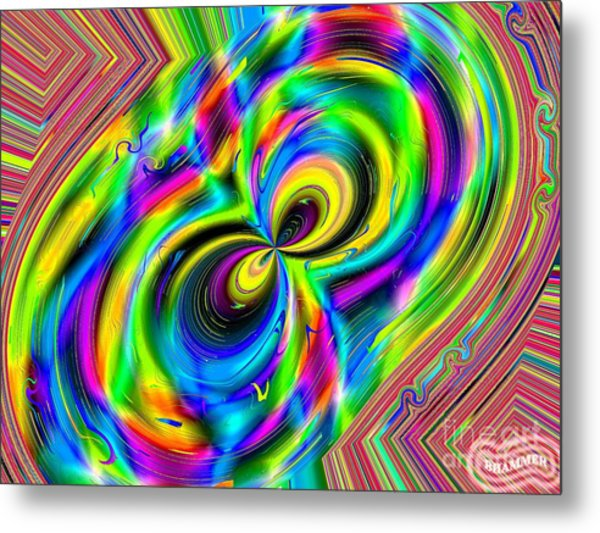Crazy Eights Metal Print by Bobby Hammerstone