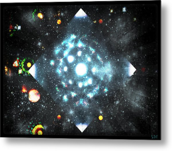 Creation Metal Print