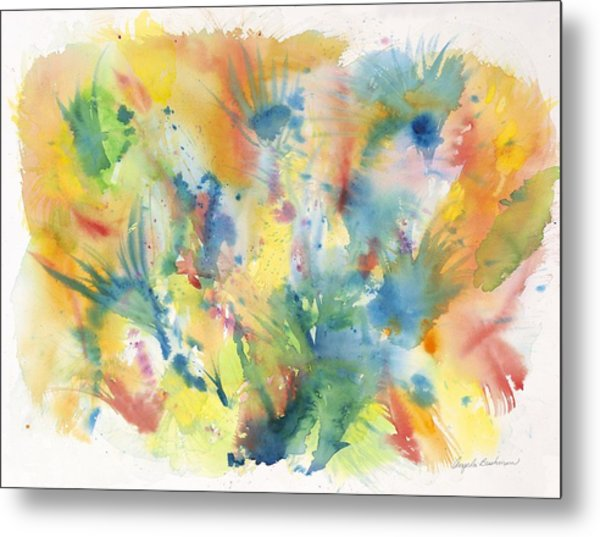 Creative Expression Metal Print