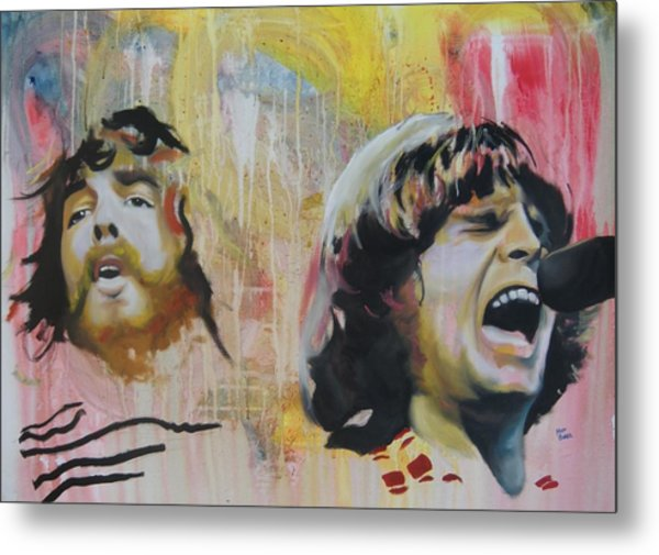 Creedence Clearwater Revival Metal Print