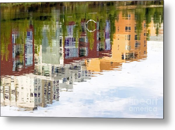 Creekside Reflections Metal Print