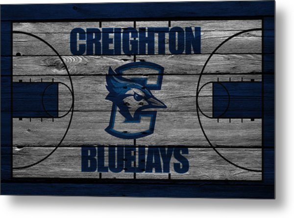 Creighton Bluejays Metal Print
