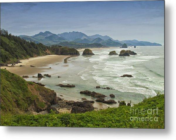 Crescent Beach Oregon Metal Print