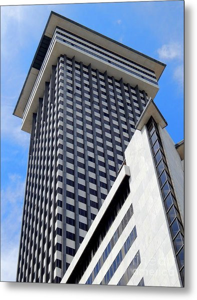 New Orleans Crescent City Towers #2 Metal Print