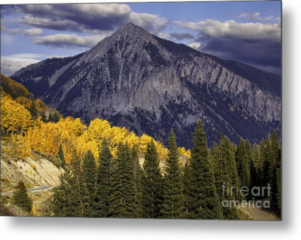 Crested Butte Metal Print