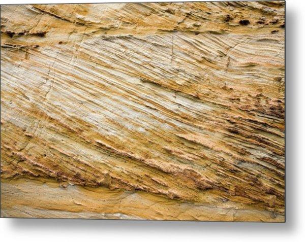 Cretaceous Rock Deposits Metal Print