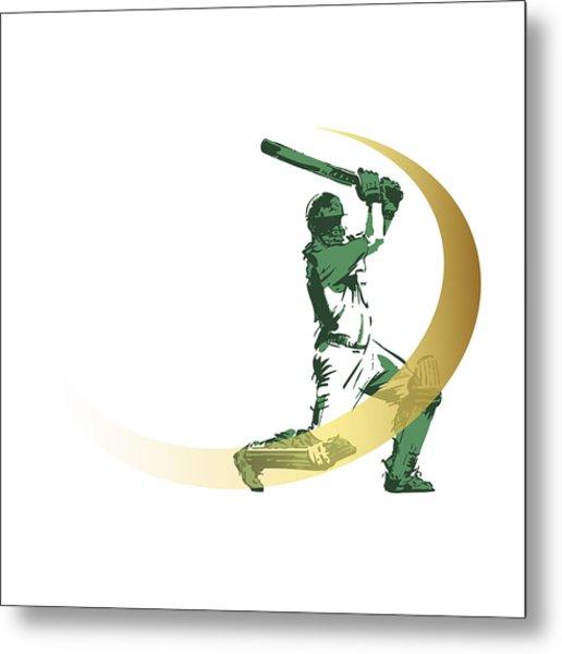 Cricket Metal Print by Ali ArtDesign