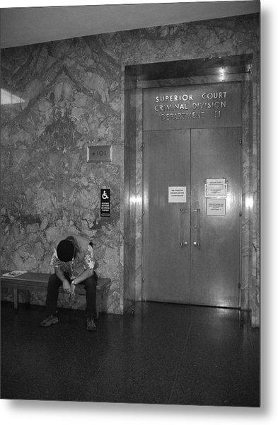 Criminal Court Metal Print