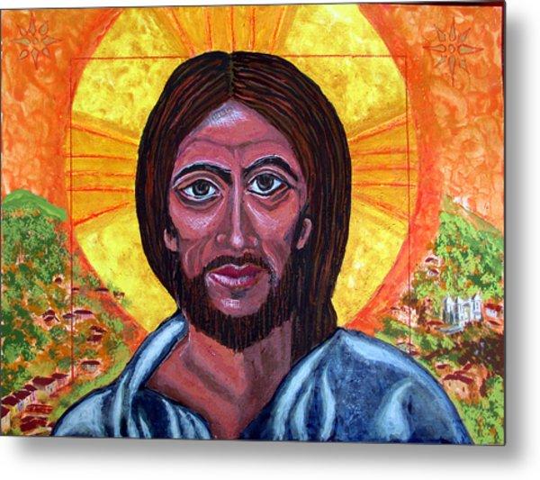 Cristo Pantocrator In Matagalpa Metal Print