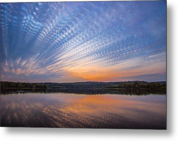 Crochet The Sky Metal Print