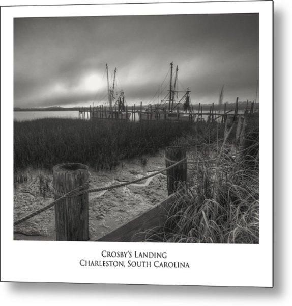 Crosby Landing Metal Print