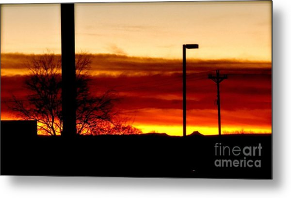 Cross The Skies Metal Print