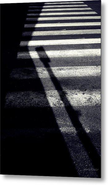 Crossing Guard Metal Print by Steven Milner