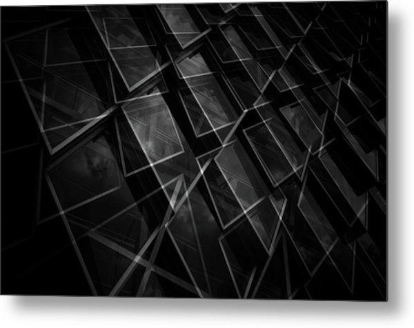 Crossing Windows Metal Print by Jeroen Van De