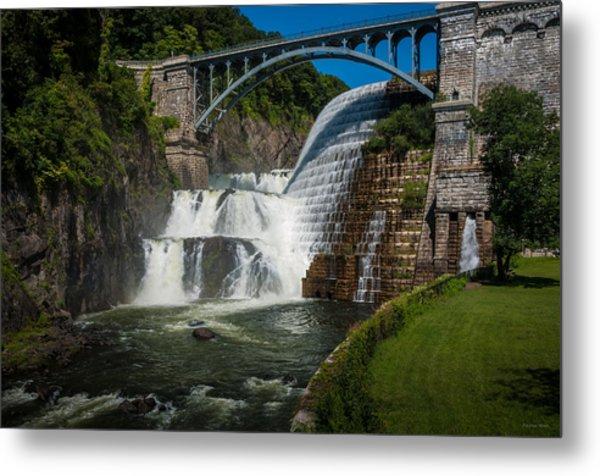 Croton Dam 2 Metal Print