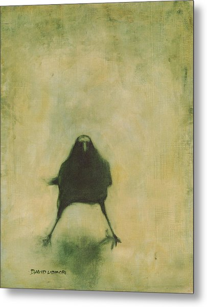 Crow 6 Metal Print