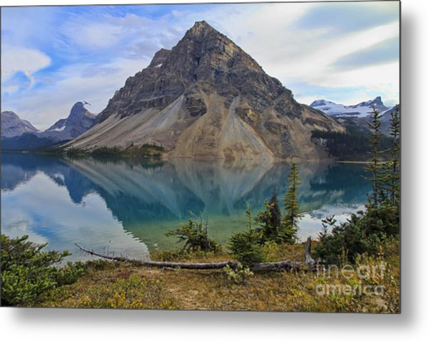 Crowfoot Mountain Banff Np Metal Print