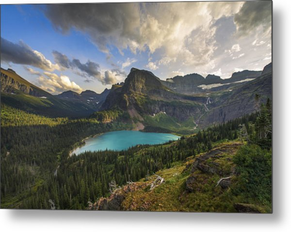 Crown Of The Continent Metal Print