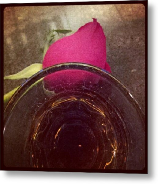 #crownroyal #rose #tgif Metal Print