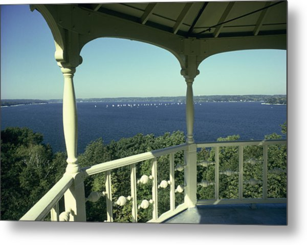 Crows Nest - Lake Geneva Wisconsin Metal Print