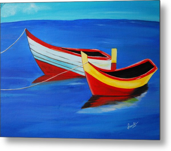 Cruising On A Bright Sunny Day Metal Print
