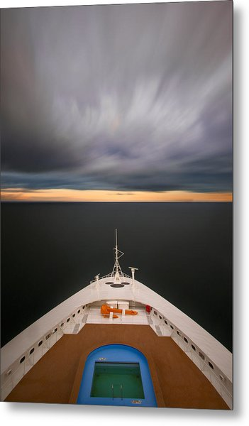 Cruising The Baltic Mg2212 Metal Print