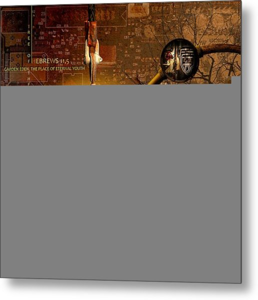 Crumbling Authority Of The Truth Metal Print