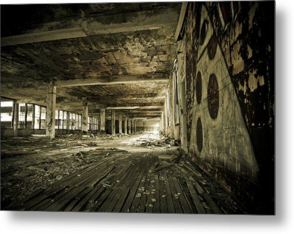 Metal Print featuring the photograph Crumbling History by Priya Ghose