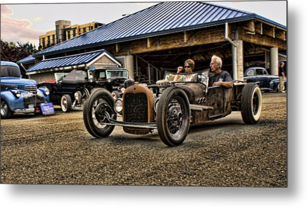Crusin' In The Rat Metal Print
