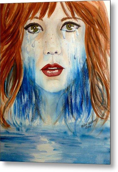 Crying A River Metal Print