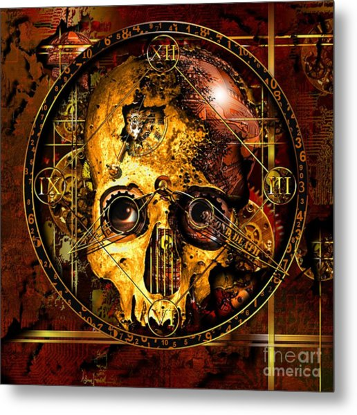 Cryptic Time Course  Metal Print