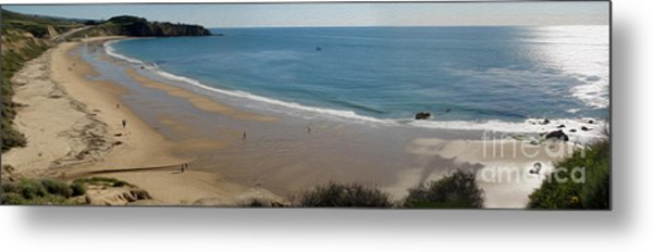 Crystal Cove View - 01 Metal Print