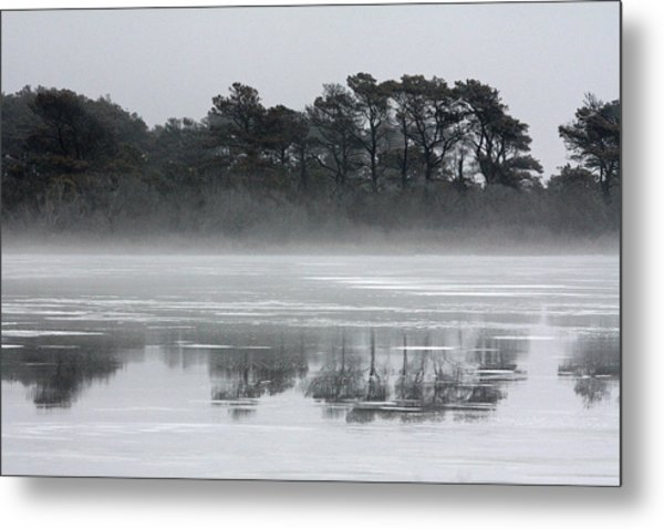 Crystal Sea Metal Print