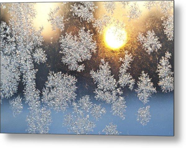 Crystal Sunrise Metal Print