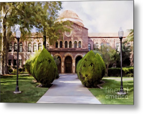 Csu Chico - Kendall Hall Metal Print