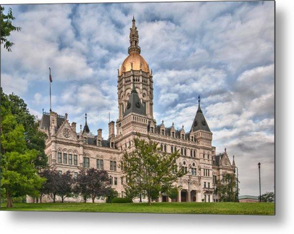 Ct State Capitol Building Metal Print