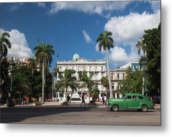 Cuba, Havana, Havana Vieja, The Parque Metal Print