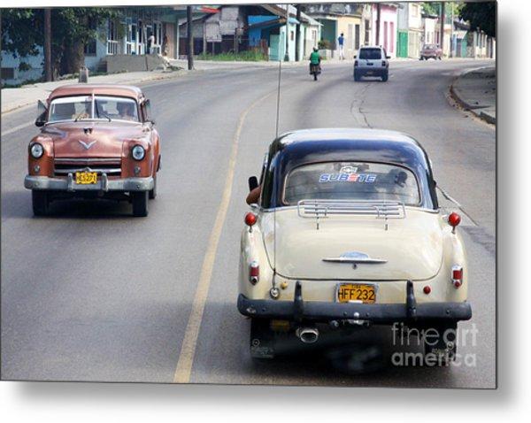 Cuba Road Metal Print