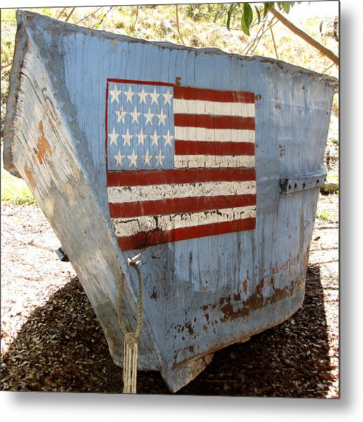 Cuban Refugee Boat 4 Metal Print