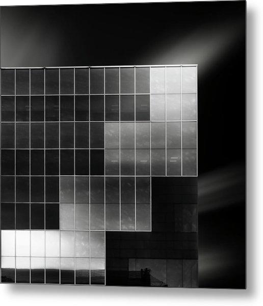 Cubes Metal Print