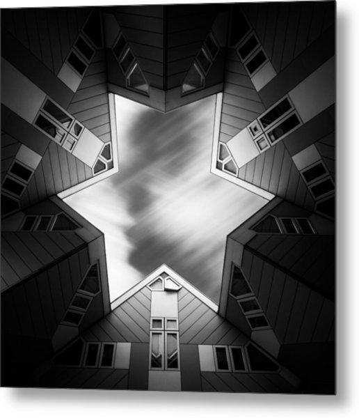 Cubic Star Metal Print