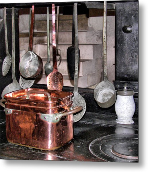 Cuisine At Chenonceau #2 Metal Print