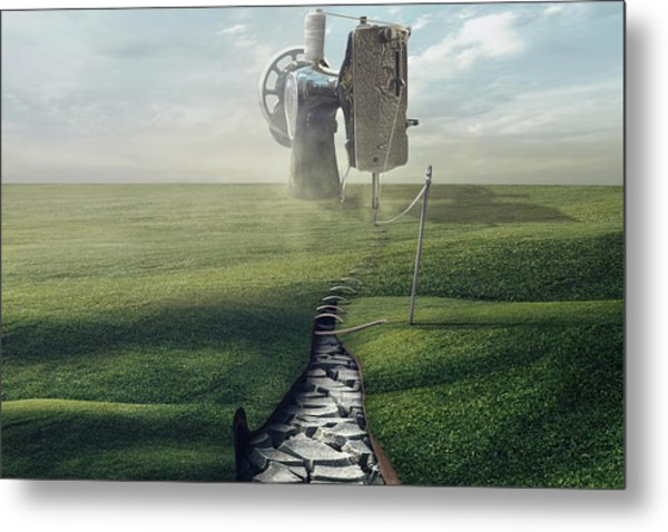 Cultivate The Ground Metal Print