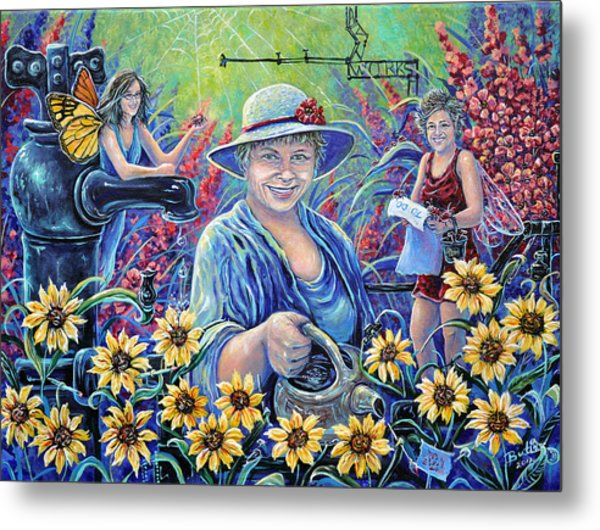 Cultivating The Arts Metal Print