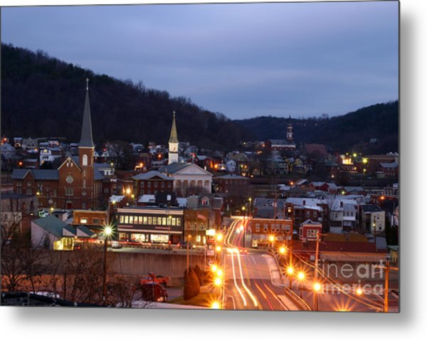 Cumberland At Night Metal Print