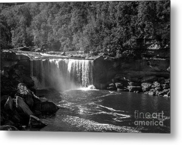 Cumberland Falls Five Bw Metal Print