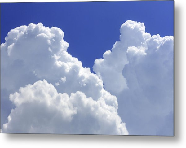 Cumulus Clouds Metal Print