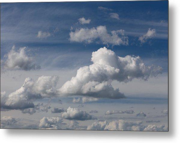 Cumulus Sky Metal Print