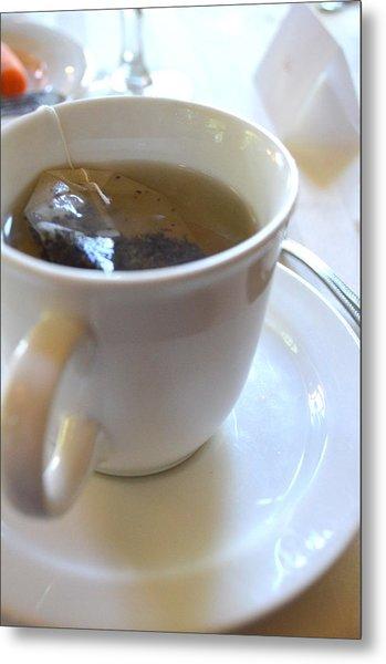 Cup Of Tea Metal Print